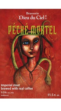 A product image for Dieu du Ciel Peche Mortel