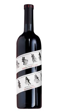 A product image for Director's Cut Zinfandel