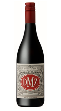 A product image for DeMorgenzon DMZ Syrah
