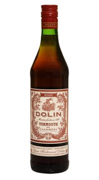 A product image for Dolin RED Vermouth de Chambery