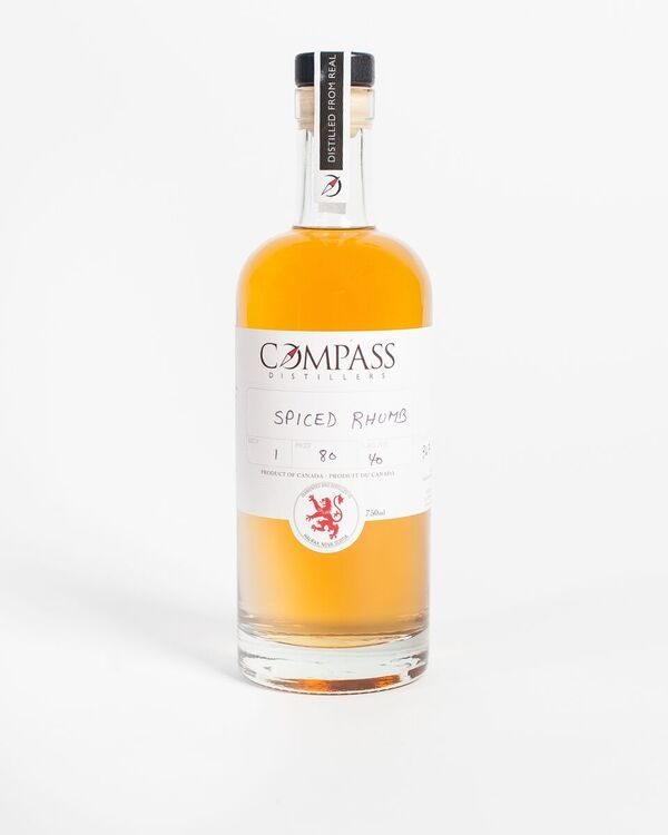 A product image for Compass Distillers Spiced Rhumb