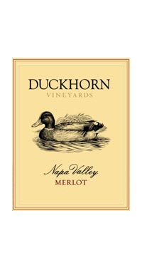 A product image for Duckhorn Merlot