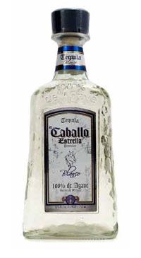 A product image for El Caballo Estrella Blanco Tequila