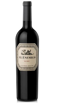 A product image for El Enemigo Malbec