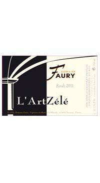 "A product image for Faury IGP Syrah ""L'Art Zélé"""