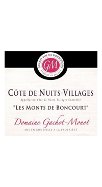 A product image for Gachot Monot Cote Nuits Villages Blanc