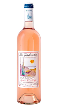 A product image for Domaine Le Galantin Bandol Rose