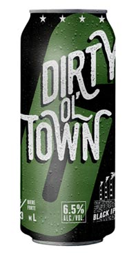 A product image for Garrison Dirty Ol Town Black IPA