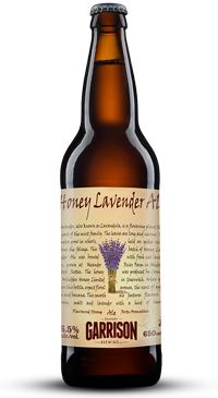 A product image for Garrison Honey Lavender Ale