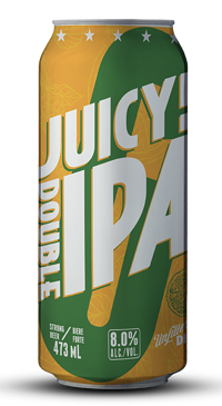 A product image for Garrison Juicy DIPA