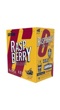 A product image for Garrison Raspberry Wheat Ale