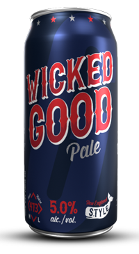 A product image for Garrison Wicked Good Pale Ale