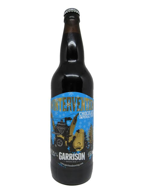 A product image for Garrison Wintervention Chocolate Stout