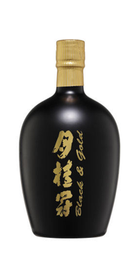 A product image for Gekkeikan Horin Black and Gold Sake 750ml