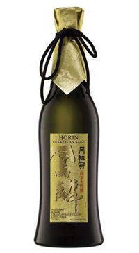 A product image for Gekkeikan Horin Sake 300ml