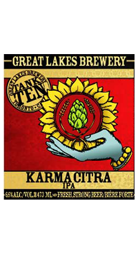 A product image for Great Lakes Brewery Karma Citra
