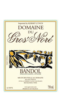 A product image for Domaine du Gros Nore Bandol Rouge