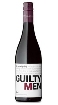 A product image for Malivoire Guilty Men Red