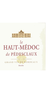 A product image for Haut Medoc de Pedesclaux