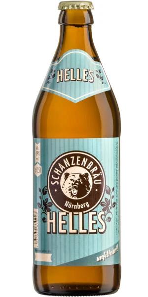 A product image for Schanzenbräu Helles Lager