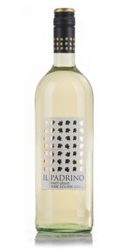 A product image for Il Padrino Pinot Grigio 1L