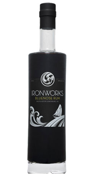 A product image for Ironworks Bluenose Dark Rum 750ml