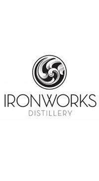 A product image for Ironworks Bluenose Dark Rum 375ml
