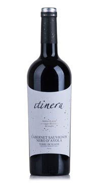 A product image for Itinera Nero d'Avola Cabernet