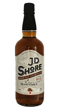 A product image for JD Shore Spiced Rum