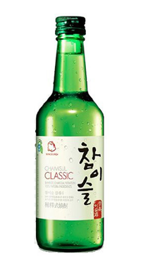 A product image for Jinro Chamisul Classique Soju
