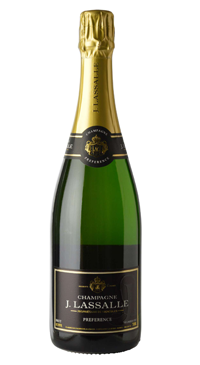 A product image for Champagne Lassalle Brut Preference 1er Cru