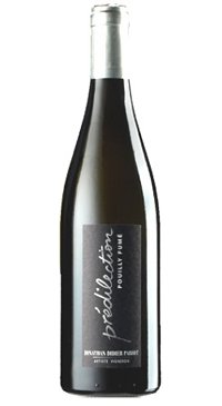 "A product image for Pabiot ""Prédilection"" Pouilly Fumé"