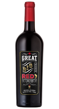 A product image for Jost Great Big Friggin Red