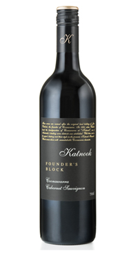 A product image for Katnook Cabernet Sauvignon