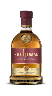 A product image for Kilchoman Red Wine Cask Matured