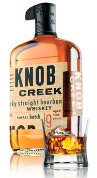 A product image for Knob Creek Bourbon