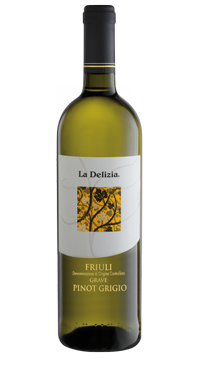 A product image for La Delizia Pinot Grigio