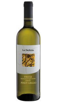 A product image for La Delizia Pinot Grigio