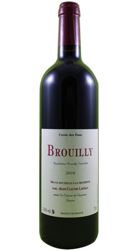 A product image for Domaine Lapalu Brouilly Cuvee Des Fous