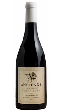 A product image for Lightfoot and Wolfville Ancienne Pinot Noir