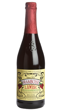 A product image for Lindemans Framboise Beer