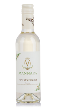 A product image for Mannara Pinot Grigio 375ml