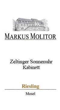 A product image for Markus Molitor Zeltinger Sonnehuhr Spatlese