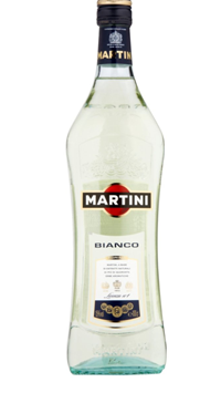 A product image for Martini Bianco Vermouth