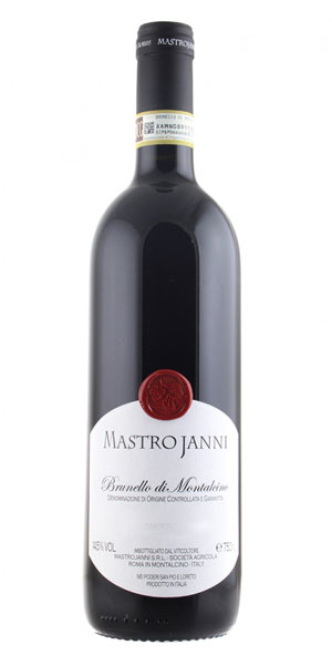 A product image for Mastrojanni Brunello di Montalcino