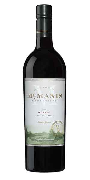 A product image for McManis Merlot