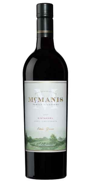 A product image for McManis Zinfandel