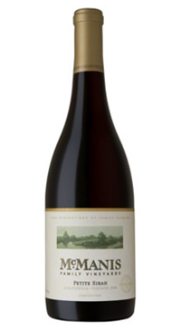 A product image for McManis Petite Sirah