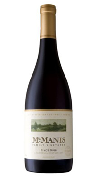 A product image for McManis Pinot Noir