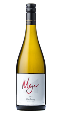A product image for Meyer Okanagan Chardonnay